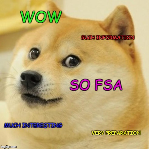much interesting. so FSA.